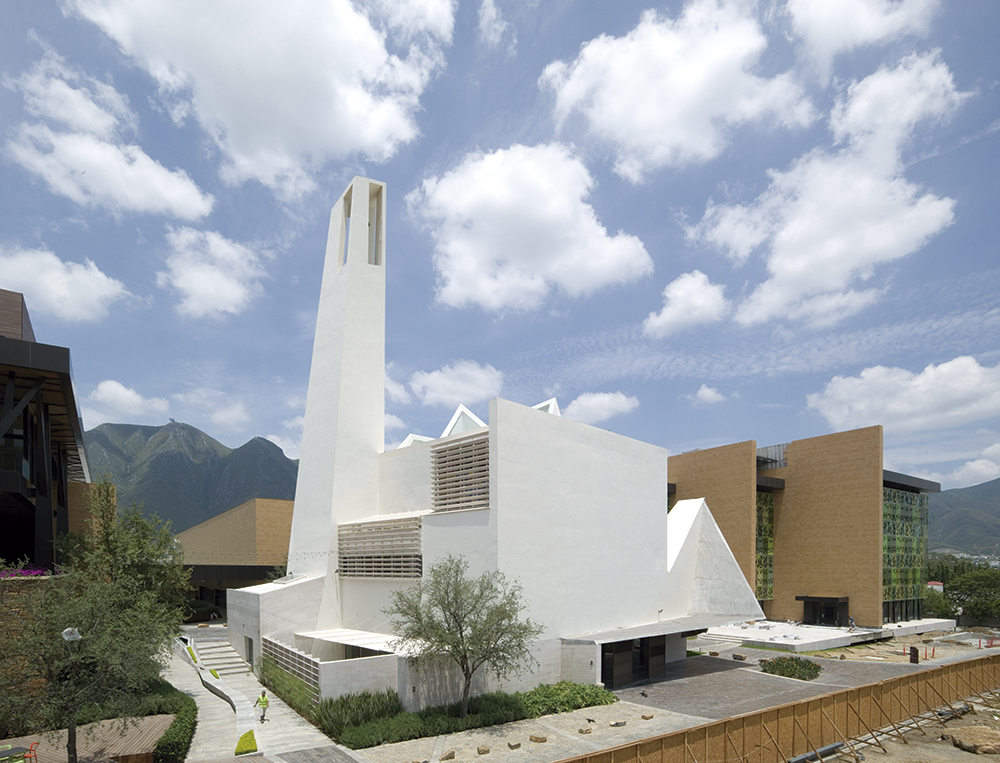 PARISH CHURCH IN MONTERREY