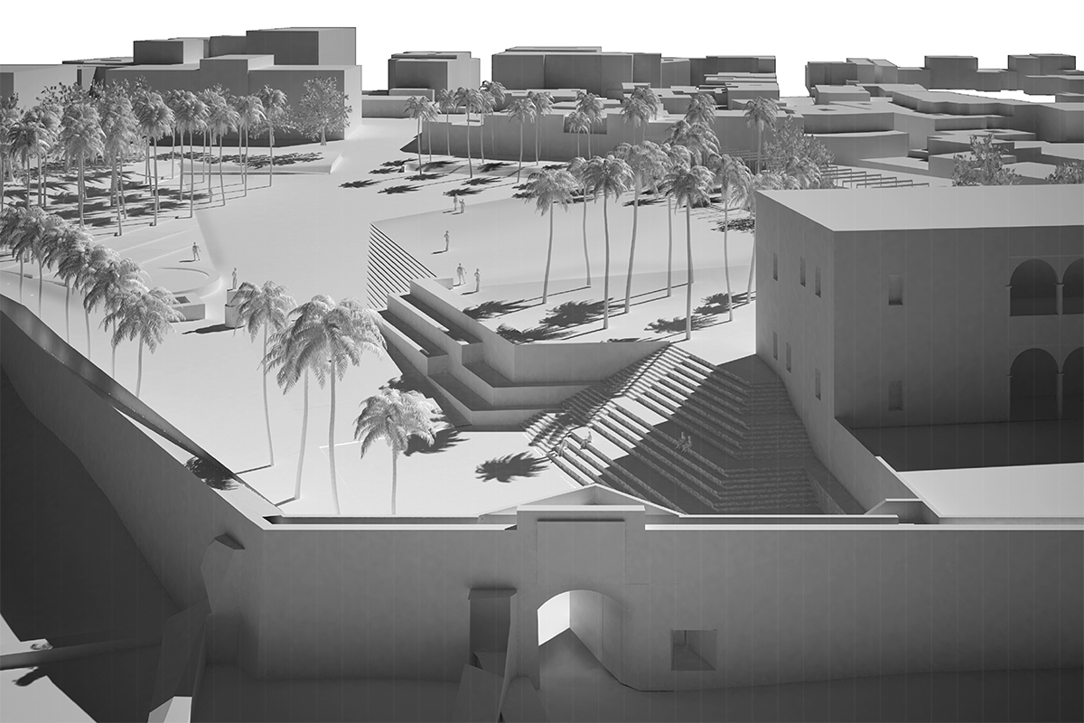 Schematic Design Plaza de España