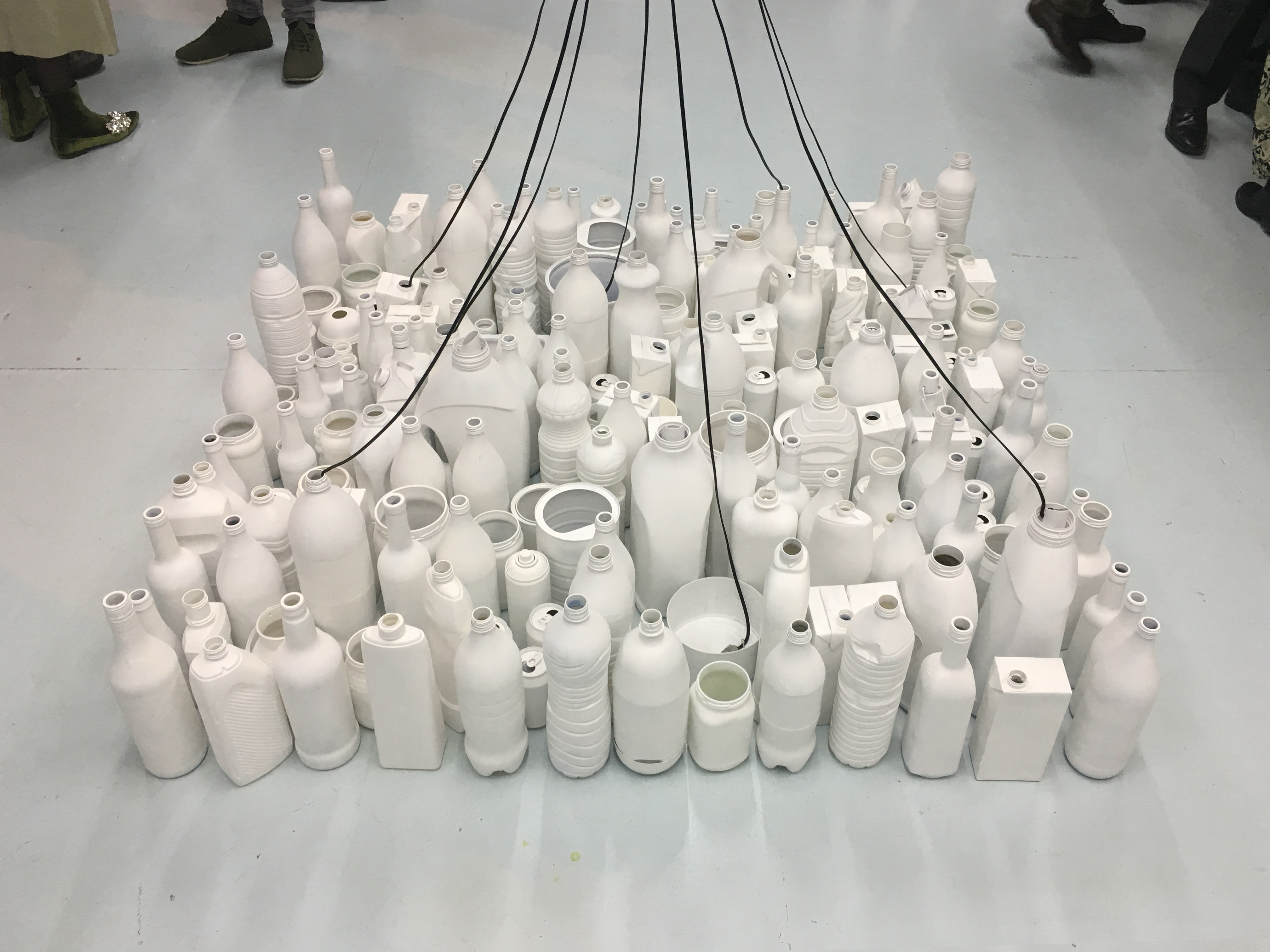 "Exhibition: ""White noise containers"""