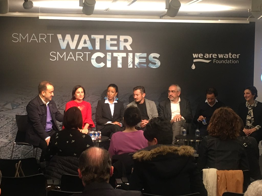 Belén Moneo en SMART WATER SMART CITIES
