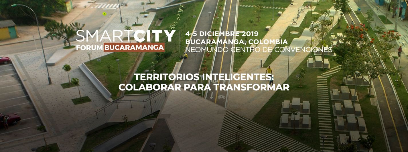 Moneo Brock at SmartCity Forum Bucarmanga