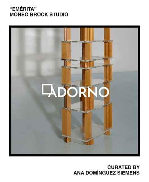 Moneo Brock on Adorno's International Design Collection