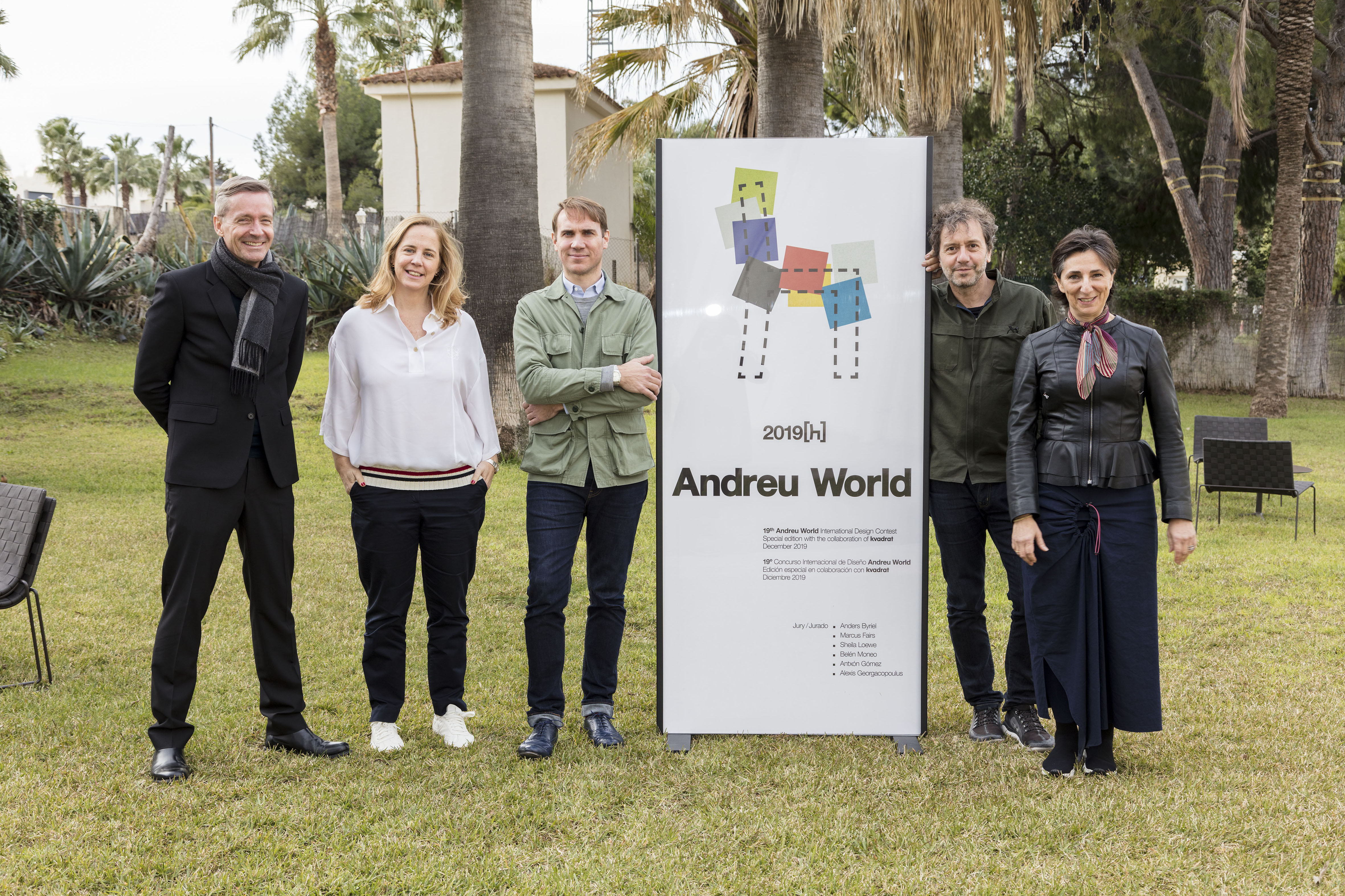Jurado Premios Andrew World