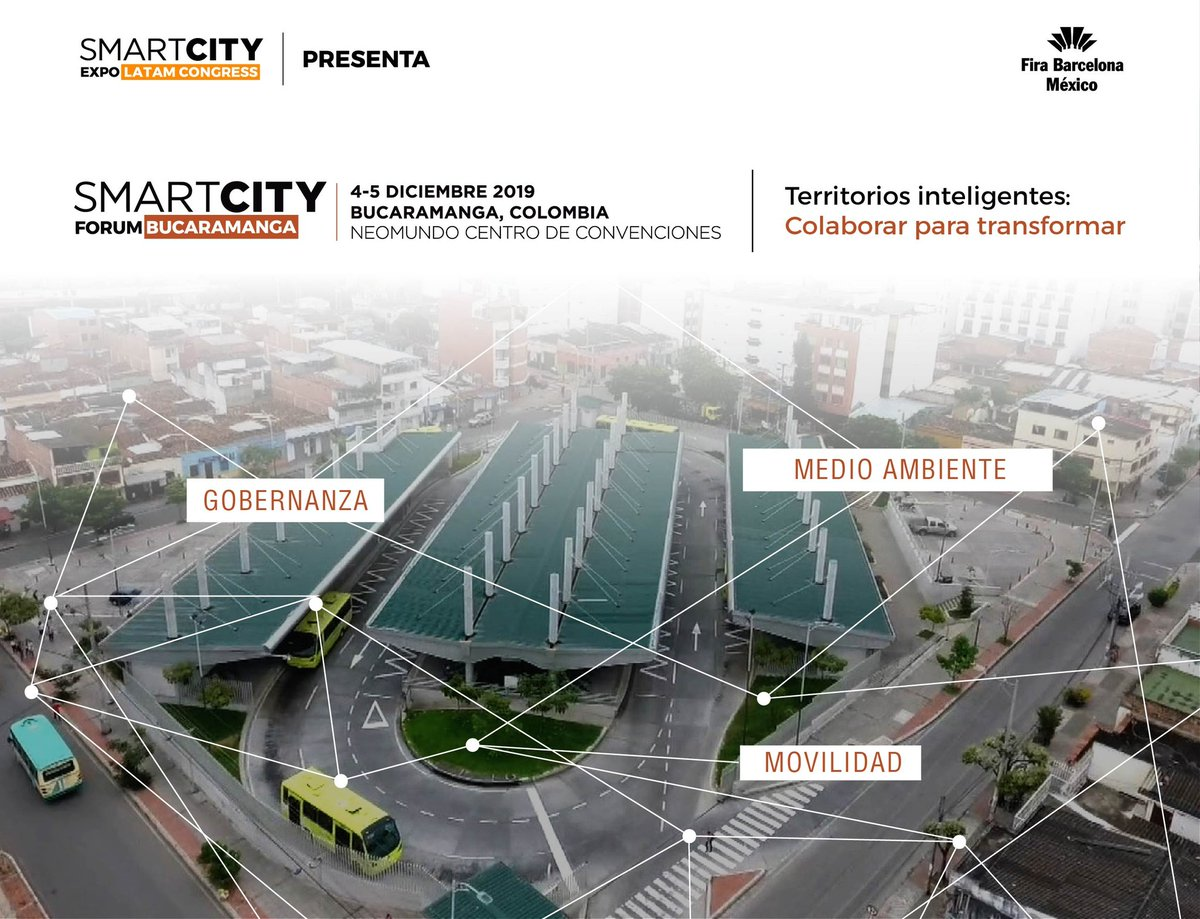 Moneo Brock at SmartCity Forum Bucaramanga
